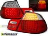 Zadní led světla BMW  E46 04/99-03/03 cabrio červená bílá