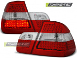 Zadní led světla BMW E46 05/98-08/01 sedan červená bílá