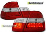 Zadní led světla BMW E46 09/01-03/05 sedan červená bílá