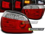 Zadní led světla BMW E60 07/03/07 červená bílá