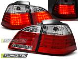 Zadní led světla BMW E61 04/03/07 červená bílá