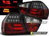 Zadní led světla BMW E90 03 / 05-08 / 08 červená kouřová