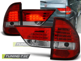 Zadní led světla BMW X3 E83 01 / 04-06 červená bílá
