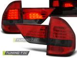 Zadní led světla BMW X3 E83 01 / 04-06 červená kouřová