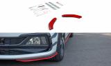 Přední spoiler nárazníku VW POLO MK6 GTI  2017-