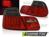 Zadní led světla BMW E46 03/04-06 coupe červená kouřová