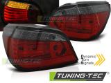 Zadní led světla BMW E60 07/03-07 červená kouřová