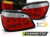Zadní led světla BMW E60 LCI 07/03-12/09 červená bílá