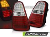 Zadní led světla BMW Mini Cooper  R50 / R52 / R53 04-06 červená bílá led