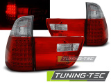 Zadní led světla BMW X5 E53 09/99-06 červená bílá
