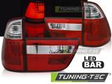 Zadní led světla BMW X5 E53 09/99-10/03 červená bílá