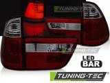 Zadní led světla BMW X5 E53 09/99-10/03 červená kouřová