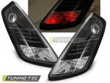 Zadní led světla Fiat Grande Punto 09/05-09 černá led