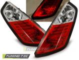 Zadní led světla Fiat Grande Punto 09/05-09 červená bílá  led