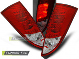 Zadní led světla Ford Focus MK1 10/98-10/04 hatchback červená bílá led