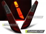 Zadní led světla Ford Focus MK2 09/04-08 HB červená kouřová led