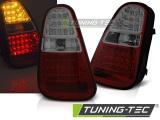 Zadní led světla Mini Cooper R50 / R52 / R53 04-06 červená kouřová led