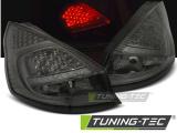 Zadní led světla Ford Fiesta MK7 08-12 HB kouřová led
