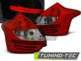 Zadní led světla Ford Focus 3 11-10/14 hatchback červená bílá  led