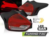 Zadní led světla Ford Focus 3 15-18 hatchback červená bílá  SEQ LED