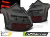 Zadní led světla Ford Focus 3 11-10/14 hatchback kouřová  led bar SEQ IND.