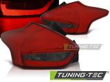 Zadní led světla Ford Focus 3 15-18 hatchback červená kouřová led