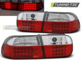 Zadní led světla Honda Civic 09/91-08/95 2D/4D červená bílá led
