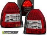 Zadní led světla Honda Civic 09/95-02/01 3D červená bílá led
