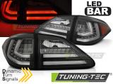 Zadní led světla Lexus RX III 350 09-12 černá led