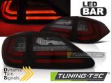 Zadní led světla Lexus RX III 350 09-12 červená kouřová SQL