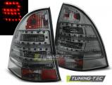 Zadní led světla Mercedes C-Class W203 combi 00-07 kouřová led