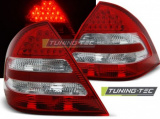Zadní led světla Mercedes C-CLASS W203 sedan 04-07 červená bílá led