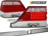 Zadní led světla Mercedes W140 95-10/98 červená bílá led