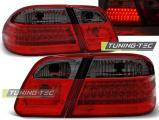 Zadní led světla Mercedes W210 95-03/02 červená kouřová led