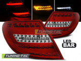 Zadní led světla Mercedes C-Class W204 sedan 07-10 červená led