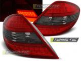 Zadní led světla Mercedes R171 SLK 04-11 červená kouřová led
