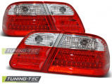 Zadní led světla Mercedes W210 95-03/02 červená bílá led