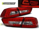 Zadní led světla Mitsubitchi Lancer 8 sedan 08-11 červená bílá led