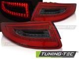 Zadní led světla Porsche 911 997 04-09 červená kouřová led
