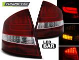Zadní led světla Skoda Octavia II sedan 04-12 červená bílá led