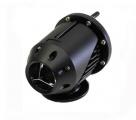 Sekvenční membránový blow off ventil SSQ - verze II. HKS style BLACK EDITION (open loop)