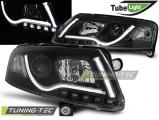 Přední světla Audi A6 C6 04/04-08 černá