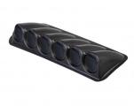 Držák na palubovku ProRacing pro 6 přídavných budíků 65mm - černý