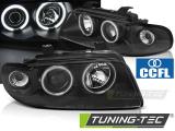 Přední světla Audi A4 11/94-12/98 Angel Eyes CCFL černá