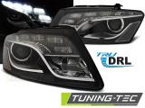 Přední světla Audi Q5 11/08 - 09/12 černá