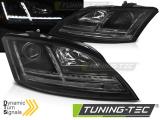 Přední světla Audi  TT 06-10 8J černá SEQ
