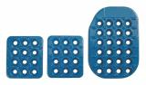 Sportovní pedály OMP - hliníkové - modré