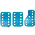 Sportovní pedály Sandtler - hliníkové - modré