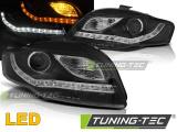 Přední světla Audi A4 B7 11/04-03/08 černá