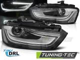 Přední světla Audi A4 B8 12-15 černá
